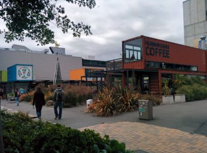 Christchurch Centre Ville en Conteneur