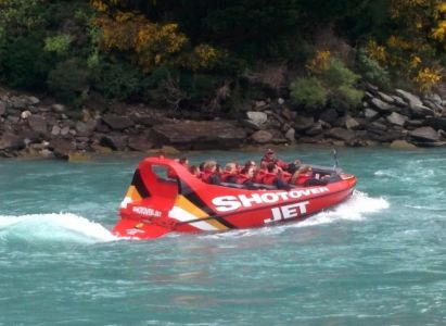 Shotover Jet à Queenstown