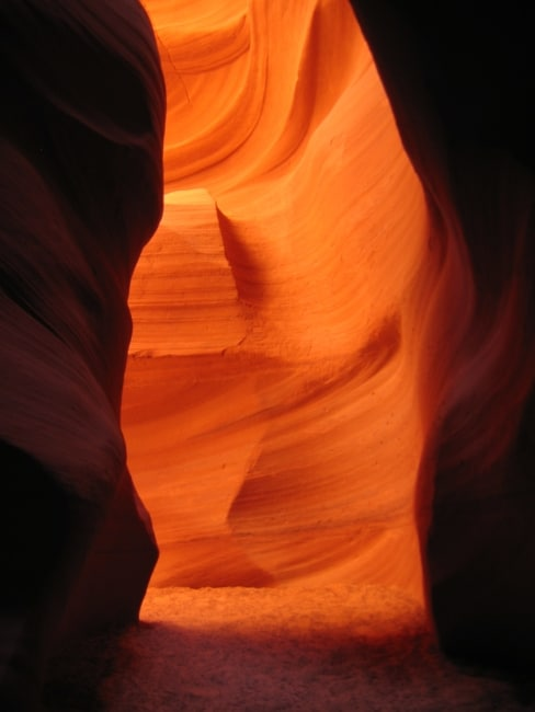Antelope canyon page arizona ouest américain