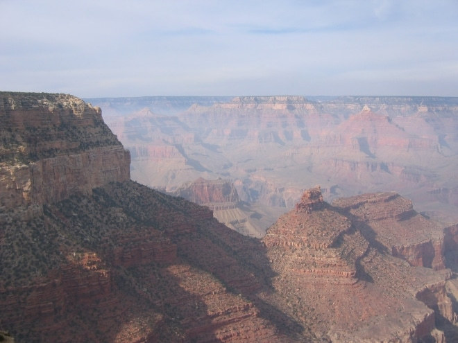 Grand canyon ouest américain Arizona