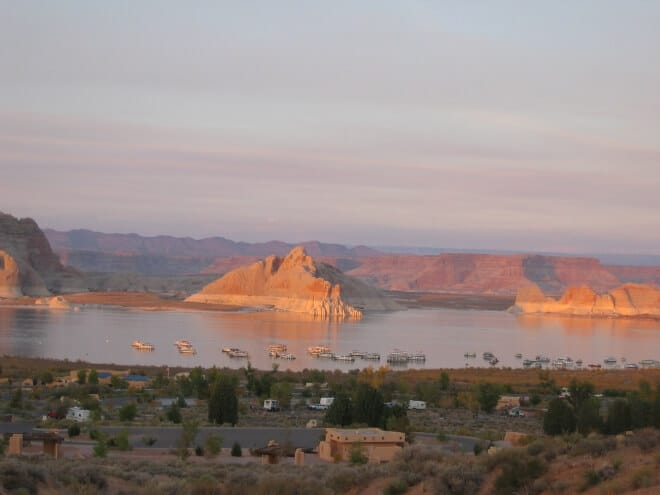 Page Lac Powell arizona ouest américain