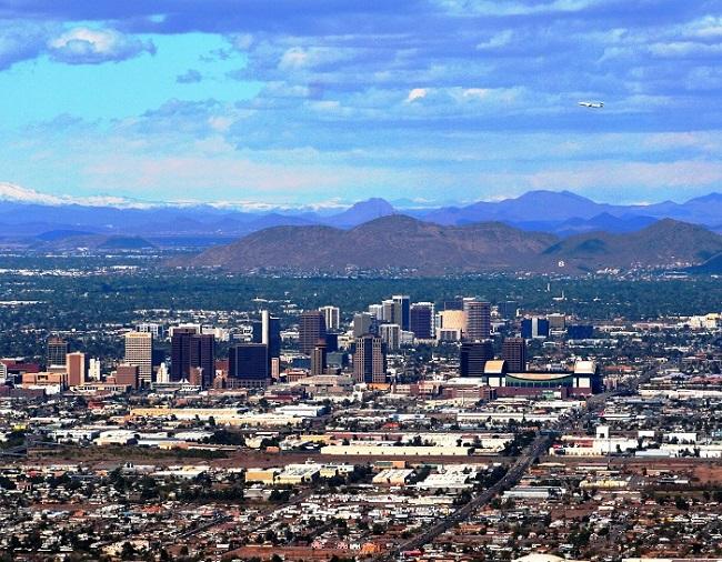 Phoenix Arizona Ouest Américain