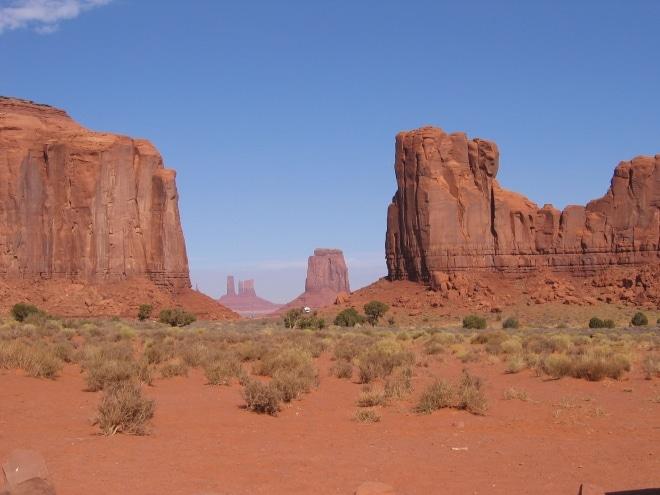 Rocher monument valley amérique