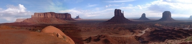 ouest-américain-monument-valley