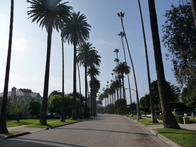Beverly Hills Ouest Américain blog voyage
