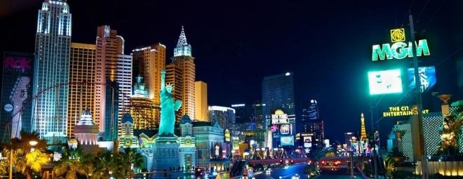Las Vegas MGM street