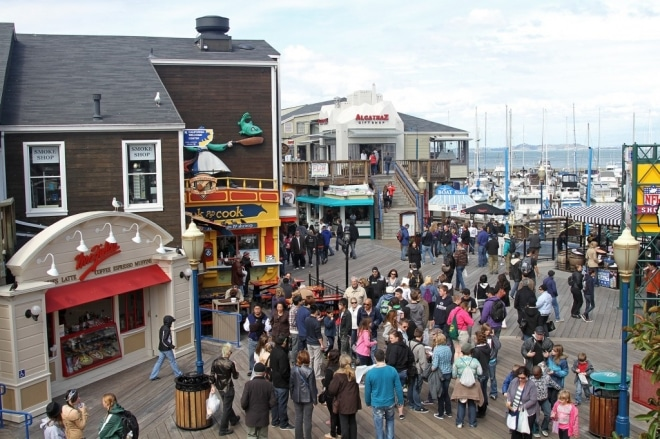 Pier 39 Fishermans wharf