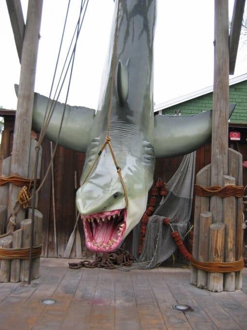 Universal Studio - Les dents de la mer Los Angeles blog voyage