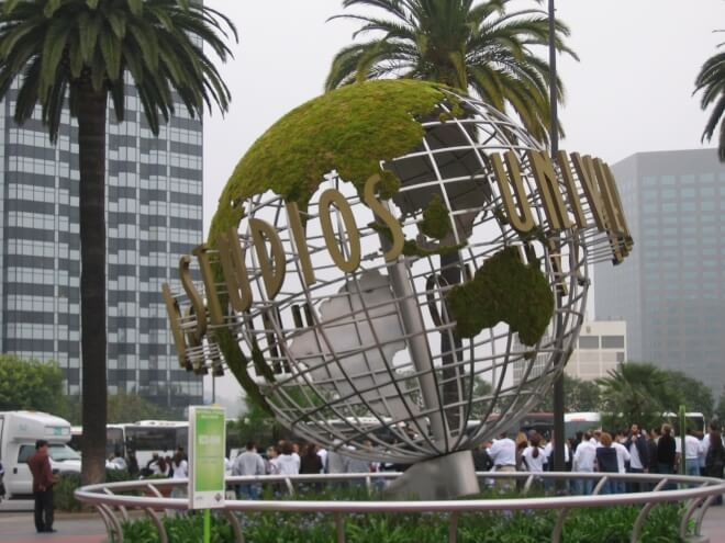Universal Studio Los Angles blog voyage