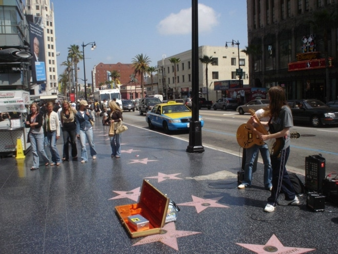 Visiter Los Angeles Hollywood Walk of Fame blog voyage
