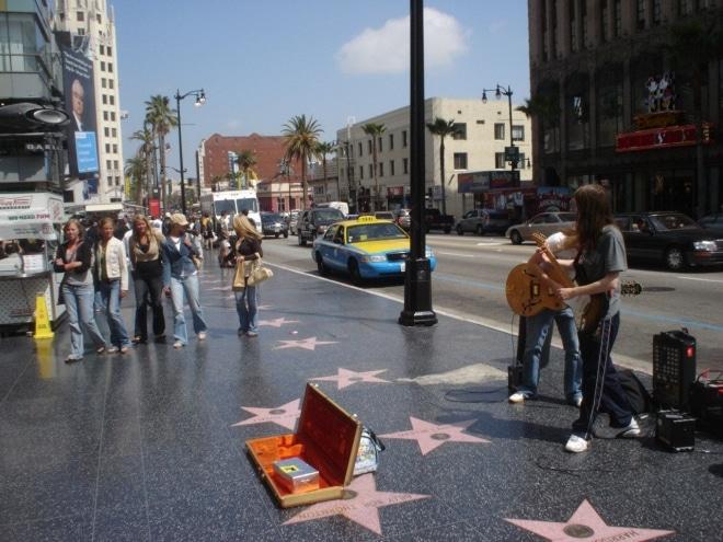 Visiter Los Angeles Hollywood Walk of Fame blog voyage