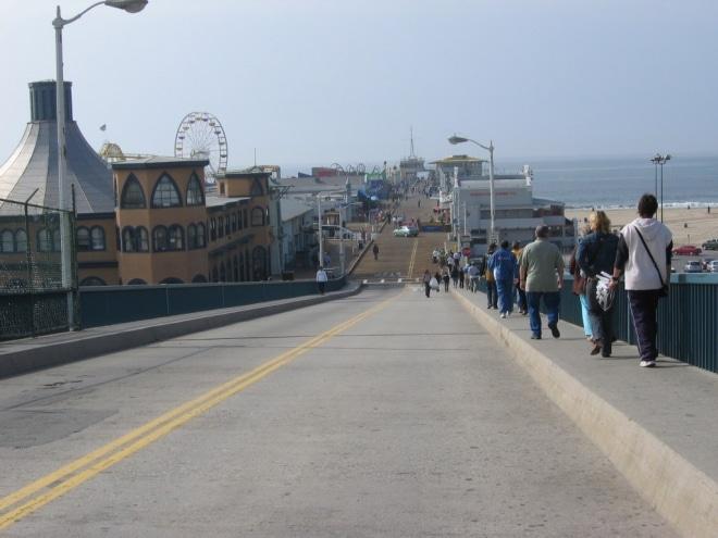 Visiter Los Angeles Santa Monica Pier blog voyage