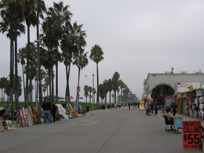 Visiter Los Angeles Venice beach blog voyage
