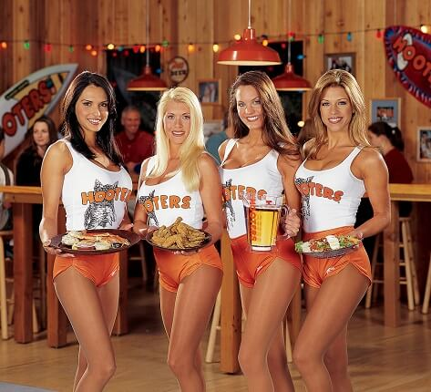 fast food usa - Hooters bar