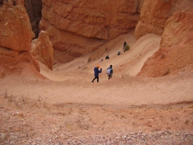 sentier bryce canyon utah