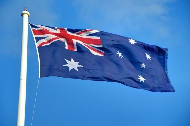 Australie drapeau road trip