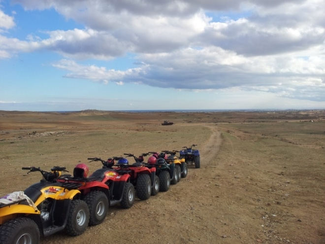 quad désert tunisie