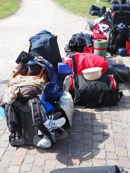 sac à dos en voyage