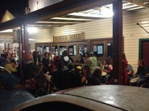 Nimbin hall hippies