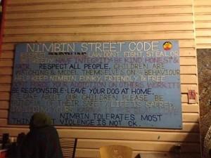 Nimbin town hippies