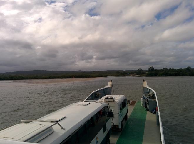 Fraser-ilsand bateau australie