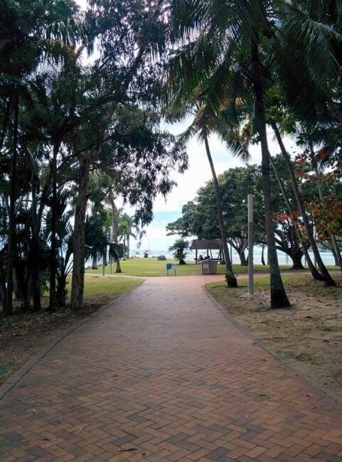 allé airlie beach parc australie