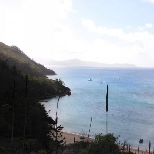 croisiére dans les whitsundays island - îles desertes dans le queensland