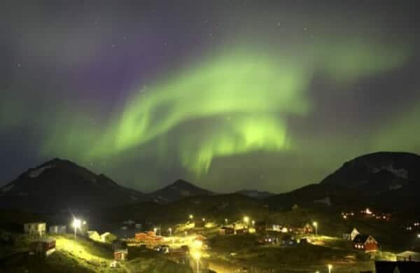 aurore boreale groenland