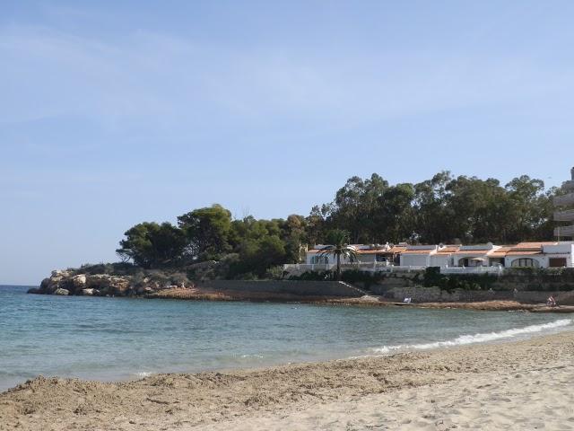 Espagne Peñon d'Ifach plage