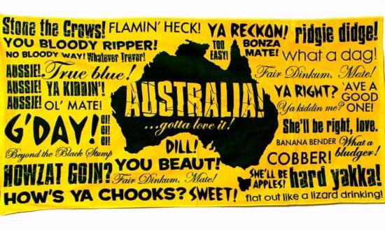 Australie-slang-langage