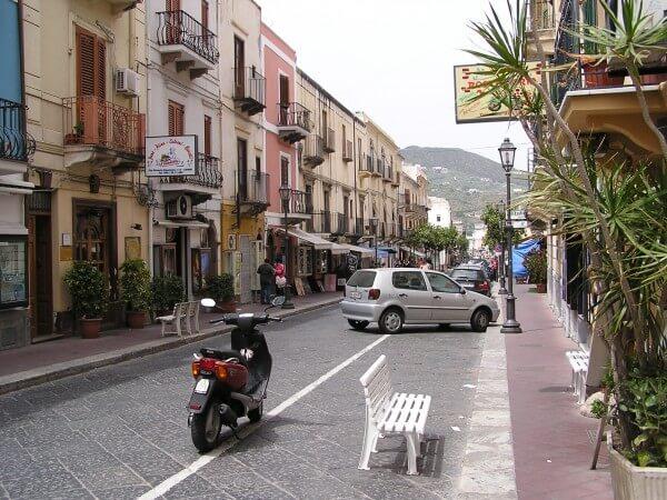Lipari village