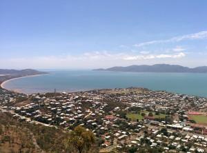 Townsville - vue de Castle Hill sur Magnetic Island