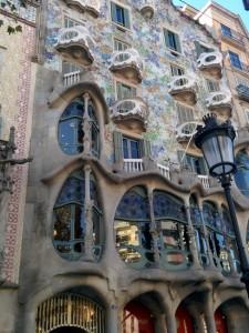 Casa Battlo de Barcelone