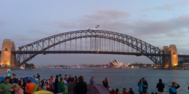 Nouvel an à Sydney