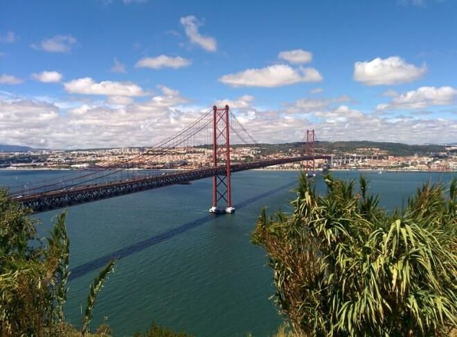 Pont du 25 Avril - visiter Lisbonne
