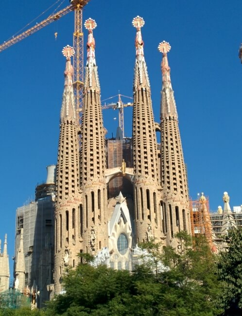 Sagrada Famiglia Barcelone