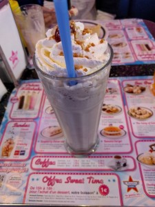 Milkshake à Nice