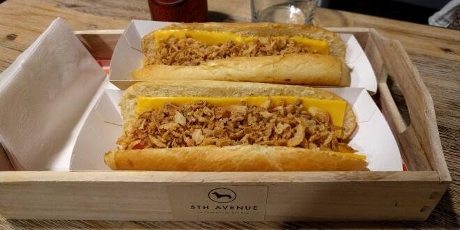 Hot dog à Nice