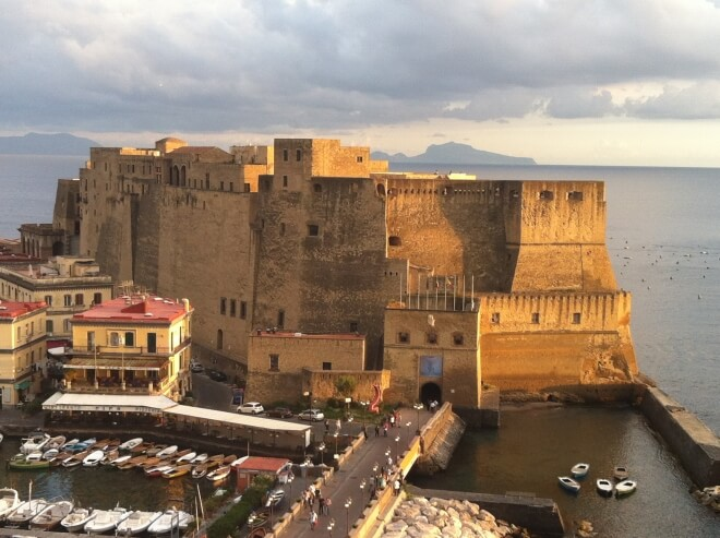 Castel dell'Ovo à Naples