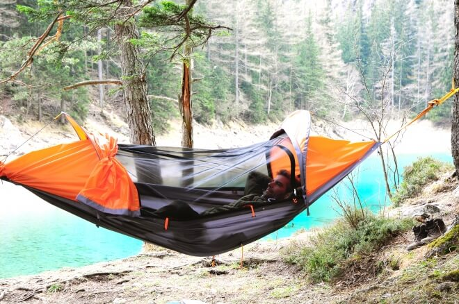 hamac et rando flying tent