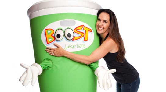 fast food australie - macca's - Boost juice