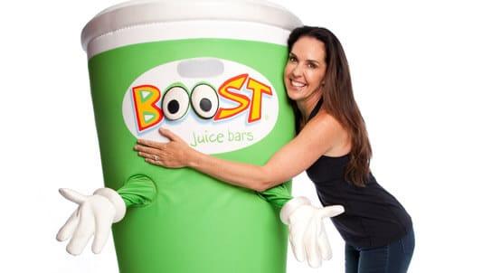 fast food australie - macca's - Boost juice