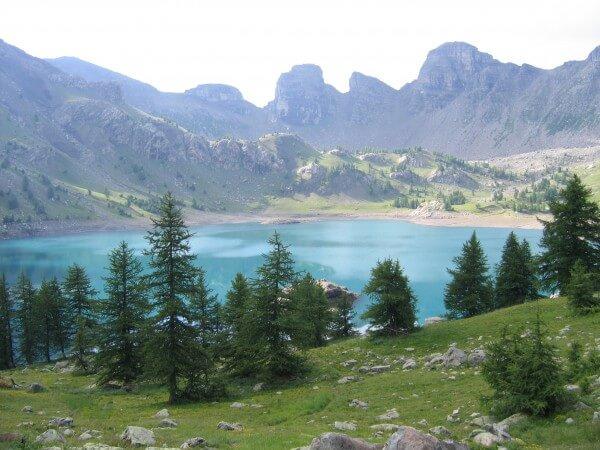 Lac d'Allos depuis La Foux d'Allos