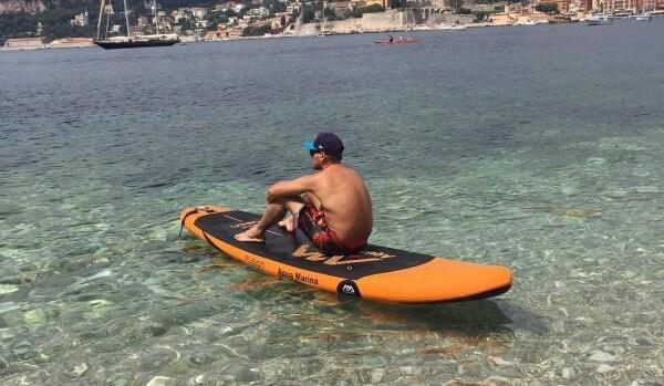Paddle à Nice - Villefranche sur mer