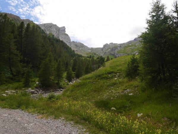 Sentier de randonnée la Foux d'Allos