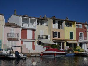 Maison colorée Port Grimaud