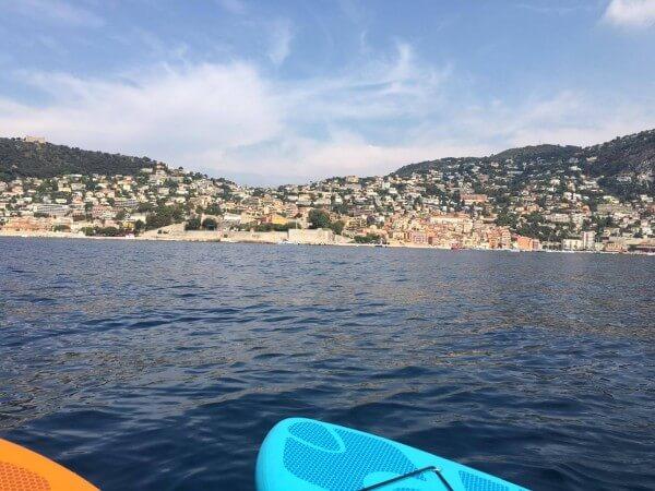 Paddle à Villefranche sur mer