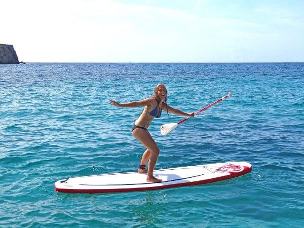 Palma de Majorque en paddle