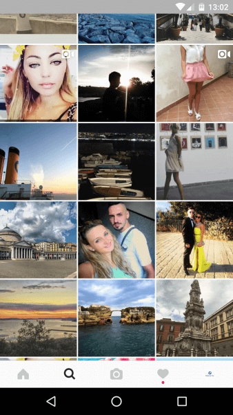 Visiter Naples depuis Instagram