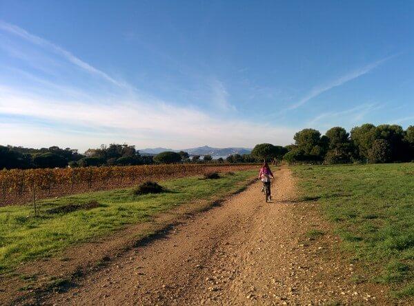 visiter porquerolles en vélo